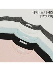2018新款韩国服装tomnrabbit品牌纯色简约舒适流行T恤(2018.1月)