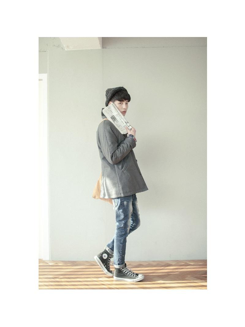 1区韩国代购正品验证tomonari toct00830852 韩国流行混色高清图片