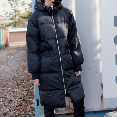 1区韩国本土服装代购(韩国圆通直发)tomonari-带帽时尚羽绒服(本商品非新品请联系客服核对再下单-14上架)