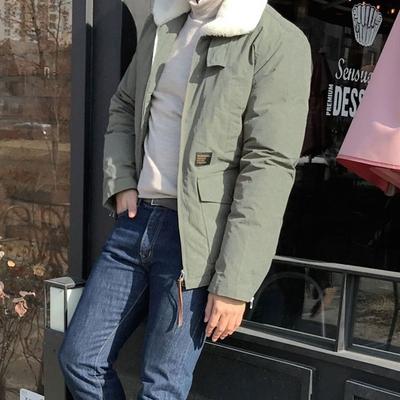 1区韩国本土服装代购(韩国圆通直发)tomonari-时尚魅力韩版个性羽绒服(本商品非新品请联系客服核对再下单-14上架)