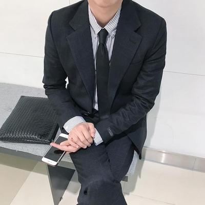 1区韩国本土服装代购(韩国圆通直发)tomonari-西服套装(2019-04-07上架)(请联系客服核对是否有货再下单哦)
