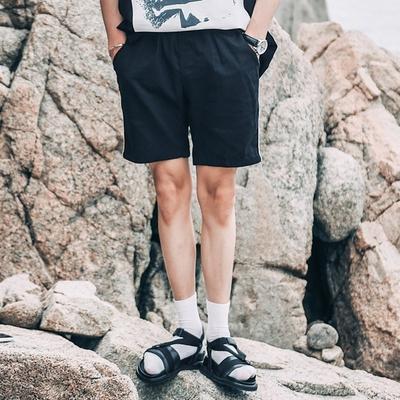 1区韩国本土服装代购(韩国圆通直发)tomonari-时尚流行松紧短裤(2018-04-14上架)
