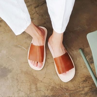 1区韩国本土服装代购(韩国圆通直发)夏季韩版百搭拖鞋(2018-07-16上架)