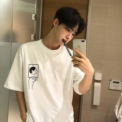 1区韩国本土服装代购(韩国圆通直发)tomonari-T恤(2019-01-08上架)