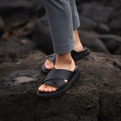 1区韩国本土服装代购(韩国圆通直发)韩版时尚流行X拖鞋(2018-07-16上架)