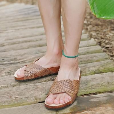 1区韩国本土服装代购(韩国圆通直发)夏季韩版时尚拖鞋(2018-07-16上架)