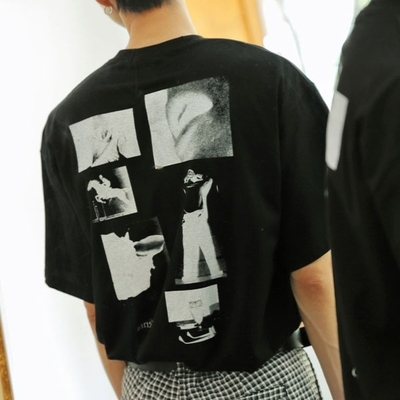 1区韩国本土服装代购(韩国圆通直发)tomonari-T恤(2018-08-03上架)