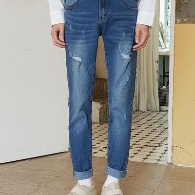 1区韩国本土服装代购(韩国圆通直发)tomonari-牛仔裤(2019-04-17上架)