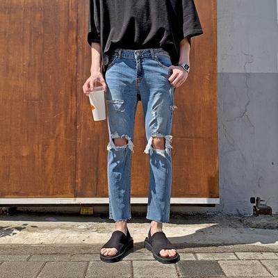 1区100%正宗韩国官网代购(韩国直发包国际运费)tomonari-牛仔裤(2019-06-10上架)