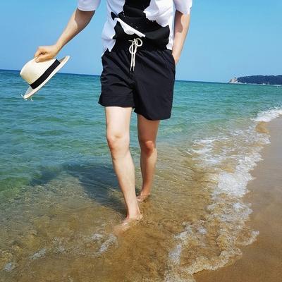1区100%正宗韩国官网代购(韩国直发包国际运费)tomonari-短裤(2019-06-19上架)