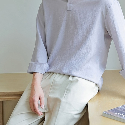 1区100%正宗韩国官网代购(韩国直发包国际运费)tomonari-衬衫(2019-08-01上架)