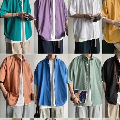 1区100%正宗韩国官网代购(韩国直发包国际运费)tomonari-衬衫(2020-07-14上架)