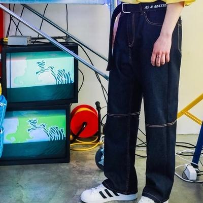 1区韩国本土服装代购(韩国圆通直发)TWN-牛仔裤(2019-04-17上架)