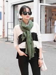 1区韩国代购正品验证uptownholic-UPKN00755956-时尚清新流行舒适百搭针织衫