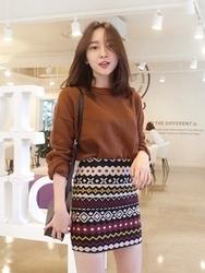 1区韩国代购正品验证uptownholic-UPKN00765138-时尚人气舒适流行必备针织衫