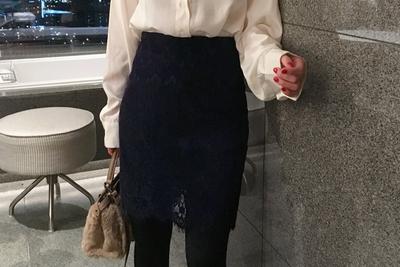 uptownholic-女士魅力休闲舒适短裙