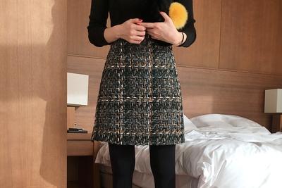 uptownholic-韩版魅力休闲舒适时尚短裙