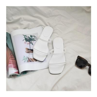1区韩国本土服装代购(韩国圆通直发)uptownholic-拖鞋(2018-10-11上架)
