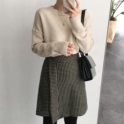 2018新款韩国服装uptownholic品牌女士魅力个性时尚中裙(2018.2月)