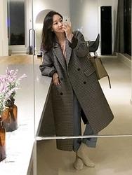 2018新款韩国服装uptownholic品牌女士魅力高档时尚大衣(2018.1月)