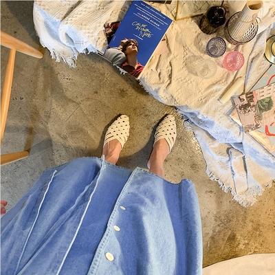 1区韩国本土服装代购(韩国圆通直发)uptownholic-平底鞋(2019-04-17上架)