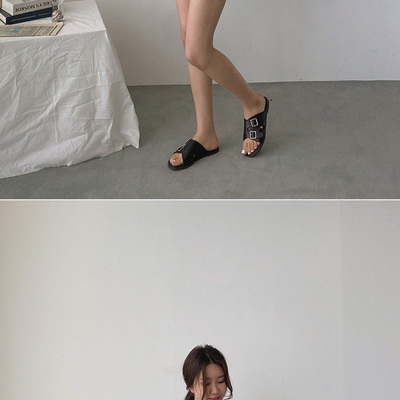 1区100%正宗韩国官网代购(韩国直发包国际运费)uptownholic-拖鞋(2020-07-02上架)