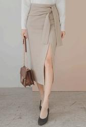 1区2017冬季新款韩国服装whitefox品牌时尚流行魅力中裙(2017.11月)