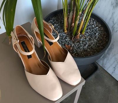 1区韩国本土服装代购(韩国圆通直发)whitefox-夏季时尚方形筒靴(2018-06-18上架)