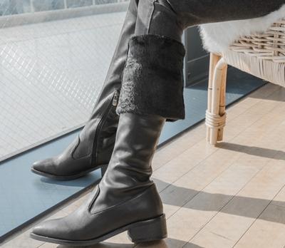 whitefox-时尚流行宽松靴子