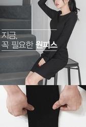 2018新款韩国服装whitefox品牌时尚流行修身连衣裙(2018.1月)