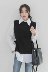 2018新款韩国服装whitefox品牌时尚流行帅气马甲(2018.1月)