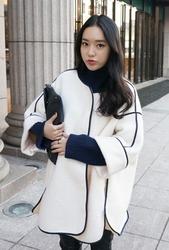 2018新款韩国服装whitefox品牌时尚流行可爱大衣(2018.1月)