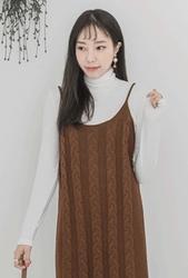 2018新款韩国服装whitefox品牌时尚流行吊带连衣裙(2018.1月)