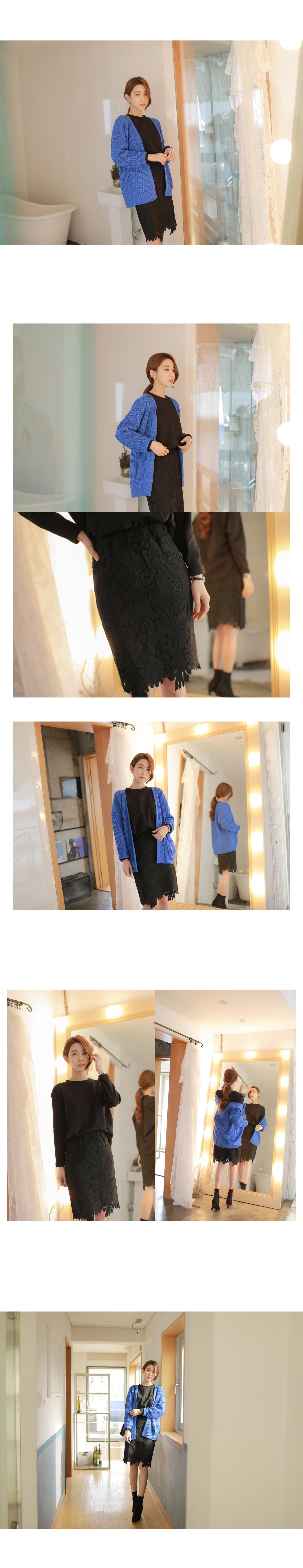 女装withipun-wpss01011147-淑女蕾丝花纹修身短裙