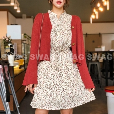 1区韩国本土服装代购(韩国圆通直发)Asomebeen-连衣裙(2018-10-22上架)